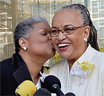 Gay marriages were recently allowed in D.C.