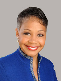 Lisa Borders, president of the Grady Health System Foundation