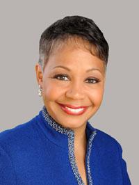 Lisa Borders, president of the Grady Health System Foundation