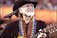 Country musician Willie Nelson