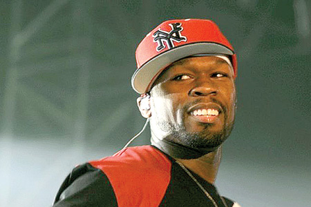 Rap star 50 Cent