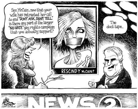 John McCain likes duct tape