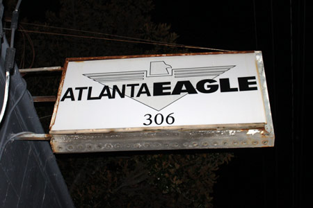 Atlanta Eagle victim of overnight burglary