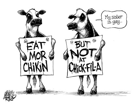 Mike Ritter's take on Chick-fil-A's anti-gay donations
