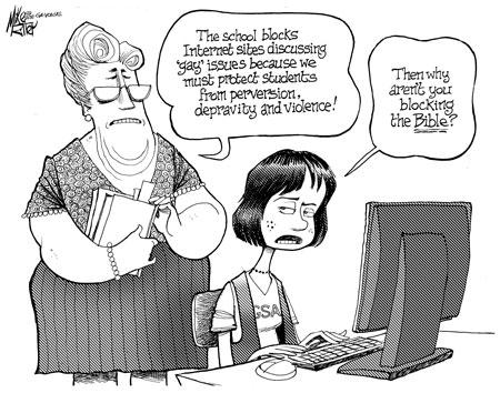 Mike Ritter's editorial cartoon