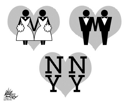 Mike Ritter Cartoon: We Love NY