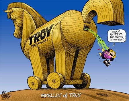 Mike Ritter editorial cartoon