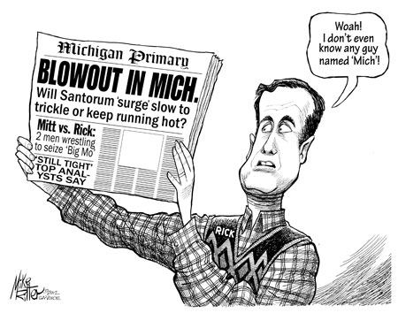 Will the Santorum surge trickle or keep running hot?