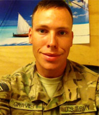 Sgt. Joshua Gravett