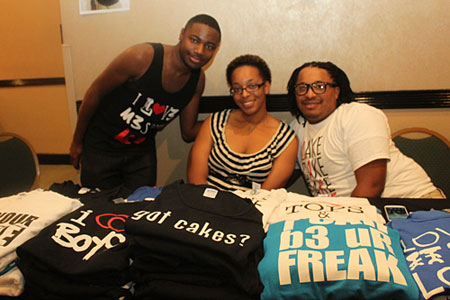 Black Gay Pride community market at Melia Hotel