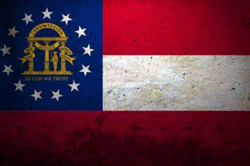 Grunge-Flag-Of-Georgia-US-State