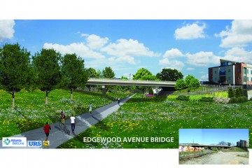 Edgewood Ave. Bridge Replacement - rendering
