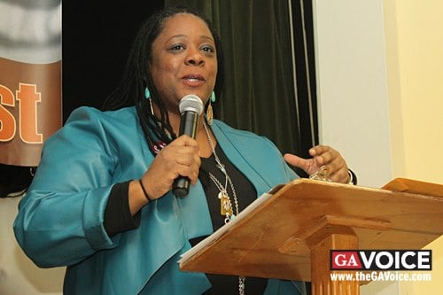 Rep. Simone Bell's bill would keep anti-gay schools from receiving scholarship money. (File photo)