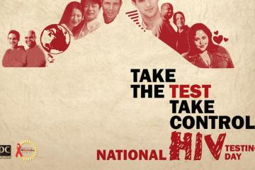 062712-health-national-hiv-testing-day-ribbon