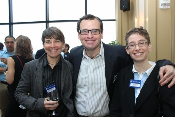 Lambda Legal attorneys (from left) Beth Littrell, Greg Nevins and Tara Borelli.