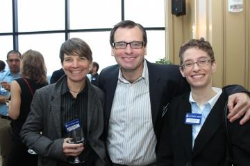 Lambda Legal attorneys (from left) Beth Littrell, Greg Nevins and Tara Borelli.