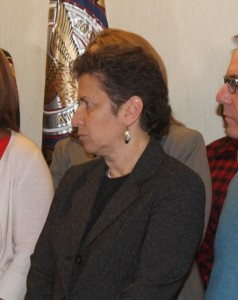 Robin Shahar, whom Bowers faced in court over rescinding a job offer to her for being a lesbian, now serves on Mayor Reed's staff. (File photo)