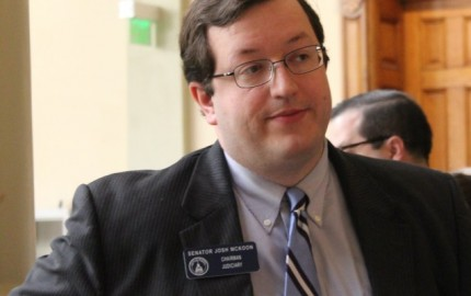 State Sen. Josh McKoon's SB 129 will get a special subcommittee hearing on March 24. (File photo)