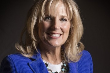 Dr. Jill Biden for the Just Asking column in Washington, DC.