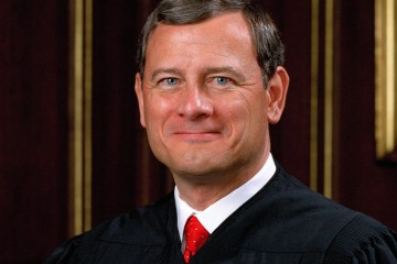 Chief Justice John Roberts. (Official photo)