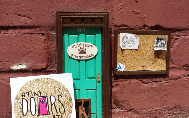 The Tiny Door on the BeltLine behind Inman Park Pet Works. (Courtesy photo)