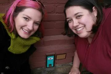 Karen Anderson and Sarah Meng, co-directors of Tiny Doors ATL. (Courtesy photo)