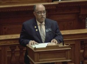 State Sen. Vincent Fort criticized the engrossment of the bill. (File photo)