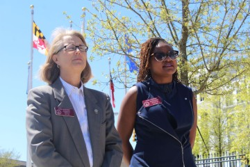 Rep. Karla Drenner (l) and Rep. Park Cannon (r) (File photo)