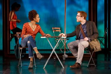 Tamyra Gray & Anthony Rapp. Photo by Joan Marcus