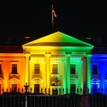 rainbow-white-house