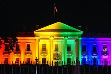 rainbow-white-house